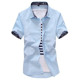 Wholesale Linen Dresses For Summer Wholesalers - Wholesale-2016 summer high quality linen men's shirts short sleeve male casual business shirts flax dress shirt for man camisa masculina