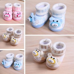Wholesale Fabric Printing Designs - free DHL express high quality baby prewalker kids Soft villus baby shoes sandals cartoon shoes 2017 new designed baby shoes