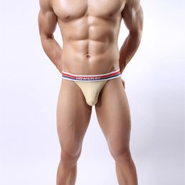 Wholesale Briefs Thin Men - U Men Briefs 2016 Low Waist Thin Style Breathable Underwear Men Mini Slip Homme Sexy Transparent Briefs