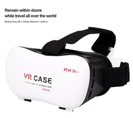 Wholesale Watch Phone Case - VR CASE 5th 5 HeadMount 3D Glasses RK5th Virtual Reality for 3.5-6 inch Phone VR BOX Watching 3D Movie 3D Game
