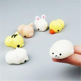 Wholesale Novelty Pigs - Wholesale Novelty Funny Kawaii Anti Stress Cute Pet Animal Dumpling Bear Panda Rabbit Pig Cat Totoro Pinch Antistress Vent Toys