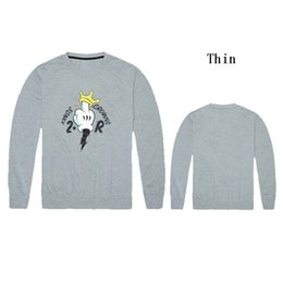 Wholesale Korean Geometric Print Sweater - Trukfit thin round neck sweater (S-XXL) 2016 Hot Korean fashion simple spring male pullover raglan sleeve letter print casual