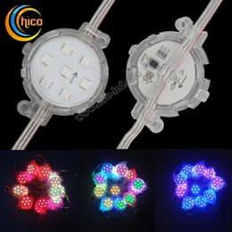 Wholesale Christmas Outdoor Lighting Sale - 50mm Led Point Lights led string light Led Pixel Light Party light Christmas lights Transparent Waterproof For Outdoor Use hot sale