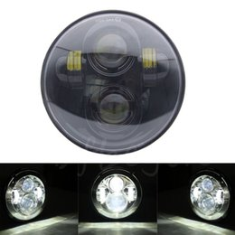 "headlight hid led with best reviews - Headlight For Harley Davidson 883 1200 5-3 4"" 5.75 Inch Motorcycle Projector Hi   Low HID LED Front Driving Headlamp Head Light"