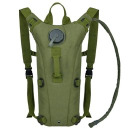 Wholesale Military Backpack Hydration Bladder - Tough Military Style Hydration Pack with 3L Bladder Outdoor Tactical Hydration Backpack for Hiking Camping Cycling Running