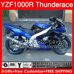 Carenado yzf 1997 online-Cuerpo para YAMAHA TOP azul negro Thunderace YZF1000R 96 97 98 99 00 01 07 84HM5 YZF-1000R YZF 1000R 1996 1997 1998 1999 2000 2001 2007 Carenado