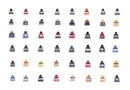 Wholesale Wholesale Mens Winter Beanies - Discount Mens Womens Basketball Beanies Baseball Beanies All Team Football Hats Flat Caps Hip Hop Beanies Sports Hat Accept Mix Order