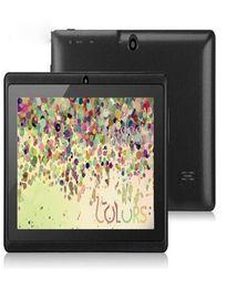 2019 tablet china rom 7 polegadas 7 Polegada A33 Quad Core Q88 Tablet Allwinner Android 4 4 KitKat Capacitivo 1 5 GHz DDR3 512 MB RAM 4 GB ROM Câmera Dupla Lanterna A23 MQ100 desconto tablet china rom