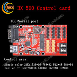 Wholesale Led Display Controller Card - led controller display control card BX-5U0 for led module led strip and pixel light free shipping