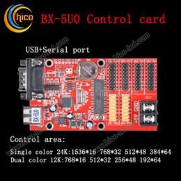 светодиодный контроллер дисплей карты управления BX-5U0 для светодиодный модуль светодиодные полосы и пиксель света бесплатная доставка от Поставщики части электрические