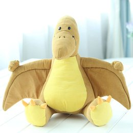 Wholesale Dinosaur Pillows - Cartoon Soft Comfort Stuffed Plush Toy Animals Pillow Interactive Dinosaur Toys Oyuncak Bebek Birthday Gift Spielzeug 70G0307