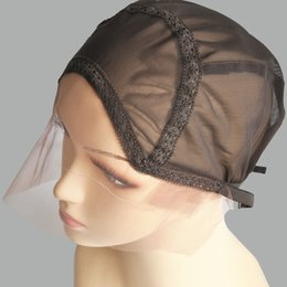 Wholesale Lace Cap Net - Hairnet Good Quality Lace Front Wig Cap Base for Making Wigs with Adjustable Strap and Spun Fish Net Full Hand Made