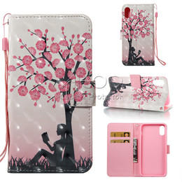 Wholesale Stand Wallet Iphone Colorful - Colorful Flip Cover Card Slot Stand Wallet Case for iPhone 8 7 6s 6 plus Samsung S8 Plus J7 LG 3 Opp Bag