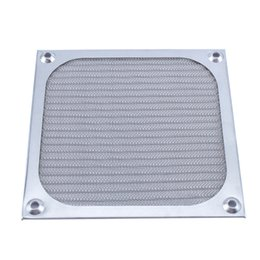 Wholesale Chassis Cooling Fan - 120mm Aluminum Dustproof Cover Dust Filter for PC Cooling Chassis Fan Grill Guard