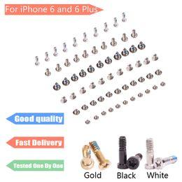 Iphone schrauben voller satz online-Hohe Qualität für iPhone 6 6g 4,7 Zoll Schraube mit Knopfschrauben Komplette volle Schraube Set Kit Ersatz Reparatur Teil