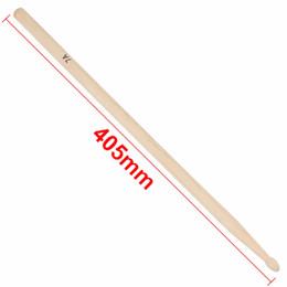 Wholesale Band Drum - Wholesale-1 Pair Maple Wood 7A Drum Sticks Rock Band Practice Percussion Drumsticks Drum Stick