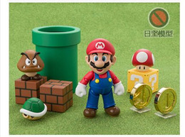 Wholesale Super Mario Toys Accessories - oys Hobbies Action Toy Figures Special offer 3pcs set DATONG model SHF super Mario action figure game toy with Accessories Scene classic ...