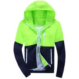 Wholesale Stylish Sports Jackets - 2016 Stylish Fashion High Quality Sport Jacket Coats, Men Causal Hooded Outdoor Jacket,Men Thin Windbreaker Zipper Coats Outwear