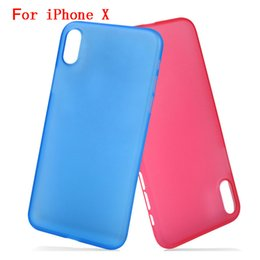 Wholesale Handy Case Wholesale - Case For iphone X 8 7 6 plus Ultra-thin Silicone Transparent Environmental protection PP material Luxury Protector Cover Soft Handy