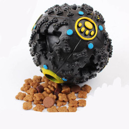 Wholesale Dog Tooth Ball - Azerin petcircle trumpet sound leakage food ball dog toy pet shrieking ball puzzle resistant teeth bite