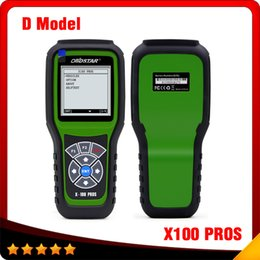 Wholesale Auto Mileage Correction Tools - 2016 Top selling OBDStar Auto Odometer correction tool X100 PROS D model online Update x-100 pros free shipping
