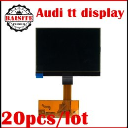 Wholesale A6 Lcd Vdo - Promotion Price!!20pcs lot audi LCD Cluster Display For AUDI TT S3 A6 for VW VDO Jeager for VW LCD VDO LCD Display free dhl