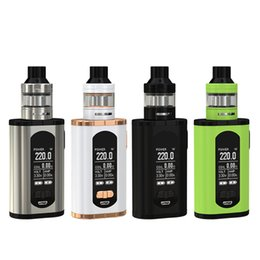 Original Eleaf Invoke con ELLO T Kit 220W Invoke Box MOD Vape con 2ml / 4ml ELLO T Tank Atomizer Electronic Cigarette Kit desde fabricantes