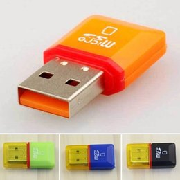Wholesale 32gb Micro Sd Card Sdhc - Hot Diamond USB 2.0 Hi-Speed Micro SD SDHC TF Card Reader Support 128MB-32GB
