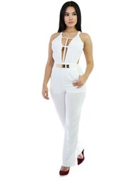 Distributors of Discount White Party Evening Jumpsuits Rompers ...