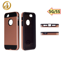 Wholesale Cell Phone White Skins - Iphone case iphone 5G 5s cases cell phone 2 in 1 hybrid PC+TPU UV coating elegant design back skin for iphone 5g 5s
