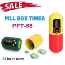 Wholesale Medicine Box Timer - Health Care Digital Pill Medicine Box Timer With Buzzer Alarm Reminder Container