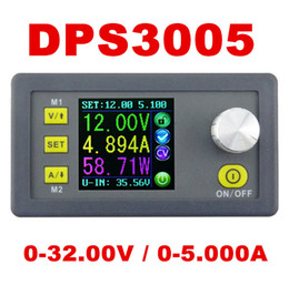 Wholesale Buck Regulator - Wholesale-DPS3005 Programmable Power Supply module buck Constant Voltage current Step-down Voltage converter regulator color LCD 50% off