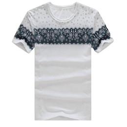 Wholesale Vintage T Shirts Wholesale - Wholesale- 2017 summer new T-Shirts Men's Tops Tees Vintage Retro O-neck short sleeve t shirt men fashion trends tshirt Plus Size