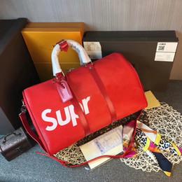 Wholesale Key Chain Strap Holder - Top quality Women KEEPALL Handbags REGATTA VOYAGER travel bag weekend duffle bag CX#14 Carry On GYM bag handbag M41414 With Straps