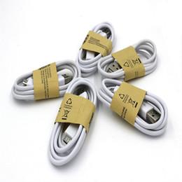 Micro USB кабель для Galaxy S6/S7 / S8 Android 2.0 зарядное устройство синхронизации кабели 1М 3 фута от