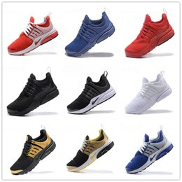 Wholesale Quality Lighting Design - Air Presto Running Shoes 2017 Wholesale New Design Sport Running Shoes Boost White Black Red Blue top quality Air Presto Ultra sneaker