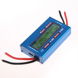 Wholesale Digital Analyser - Simple DC Power Analyser Watt Volt Amp Meter 12V 24V Solar Wind Analyzer order<$18no track