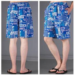 Wholesale Printed Half Pant Men - Wholesale-2016 New men Outdoors sports hot sale pattern print cotton Joggers men half-length loose casual beach pants plus size
