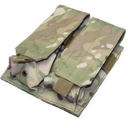 Wholesale Tennis Bags Sale - Hot Sale 5.56mm Double Tactical Molle Pouch Dual function bag