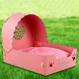 Wholesale Bedding For Dog Houses - 48*36*40Cm Plastic Dog Mattress Pets Supplies Removable And Washable Dog Bed Mattress For Small Medium Size Dogs Pink Color