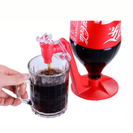 Wholesale Dispenser Tap - Saver Refrigerator Saver Soda Dispenser Bottle Coke Upside Down Drinking Cola Soft Drink Dispenser Party Bar Kitchen Gadgets Soda Tap