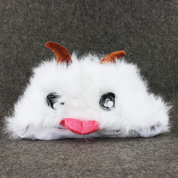Wholesale Gifts For Gamers - Hot Sell Cute LOL Poro Plush Stuffed Toy Figure Doll lol Cosplay for Gamer Collectible Gift for Children Kid Toys 20CM