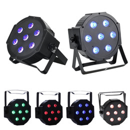 Wholesale active ups - LED Stage Lamps 7x10 Watt DMX512 RGBW Disco LED Light - Remote Control - Up-Lighting - Stage Lamp club lights moving