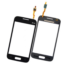 Wholesale Galaxy Ace Touch - For Samsung Galaxy Ace 4 G313 G310 G313H New White Black Front Outter Touch Screen Digitizer Glass Lens Replacement