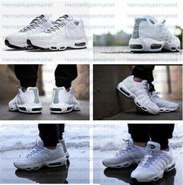Wholesale Cool Shoes For Sale - 2015 Hot Sale Outdoor Jogging Air Shoes Retro Max 95 Essential Sports Running Shoes For Men Cool Boy Basketabll Athletic Trainer Sneakers