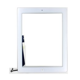 Wholesale Cheap Screens For Tablets - Best Cheap Tablet PC Screens for iPad 4 9.7 Inches Original Capacitive Touch Screen for Apple iPad 4 Online