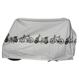 Wholesale Bike Cover For Rain - UV protector cover dustproof Bike Rain Dust Cover Waterproof Outdoor Gray For Bike Bicycle Cycling free shipping