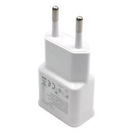 Beyaz Çift 2A USB AB Tak Duvar Şarj Samsung galaxy S4 S3 S5 S6 Huawei LG Akıllı telefon için nereden galaxy s4 duvar şarj cihazı beyaz tedarikçiler