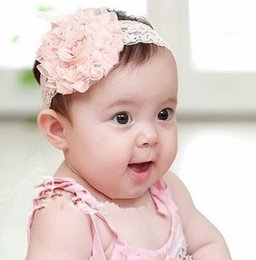 Wholesale Top Baby Headband Ornament - Wholesale- Top Sell baby hair accessories headband headwear children hair ornament girl headbands hair band Flower Infant xth007