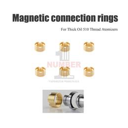 Anelli di connessione magnetici per atomizzatori Serbatoi di olio denso Anelli adattatori 510 cartucce Fit Atomizzatori CE3 G2 H10 Amigo Liberty da strumenti di apertura del telefono cellulare fornitori